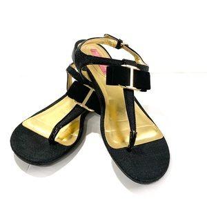 Isaac Mizrahi 9 M ISBREE women's thong sandals